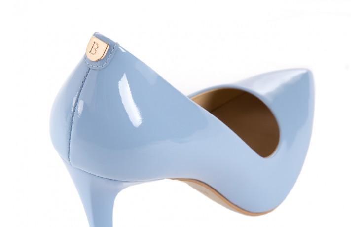 Szpilki bayla-056 1810-751 niebieski, skóra naturalna lakierowana - 10% - halloween do -30% 5