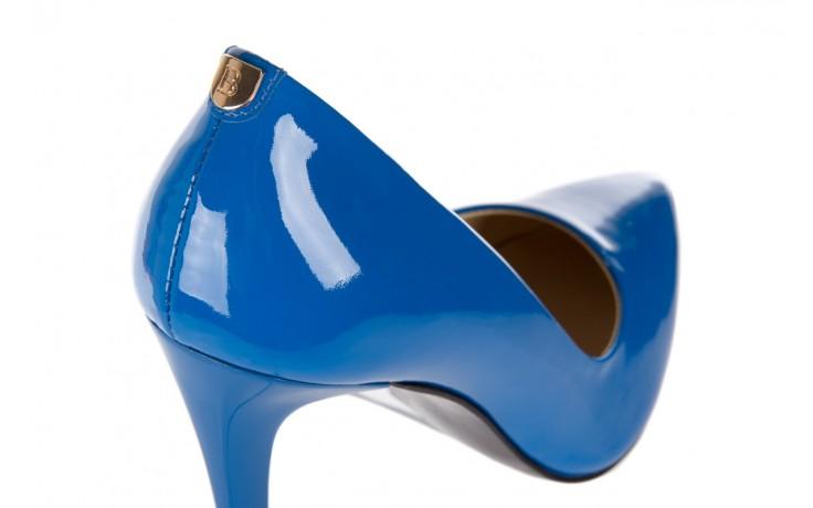 Szpilki bayla-056 1810-753 niebieski, skóra naturalna lakierowana - 10% - halloween do -30% 5