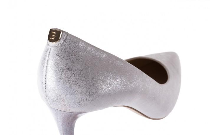 Czółenka bayla-056 1816-1089 srebrny metaliczny 20, skóra naturalna  - formal style - trendy - kobieta 6