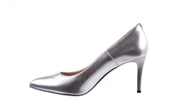 Czółenka bayla-056 1816-1103 srebrny 20, skóra naturalna  - szpilki - buty damskie - kobieta 3