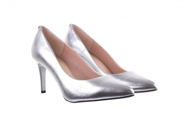 Czółenka bayla-056 1816-1103 srebrny 20, skóra naturalna  - szpilki - buty damskie - kobieta 1
