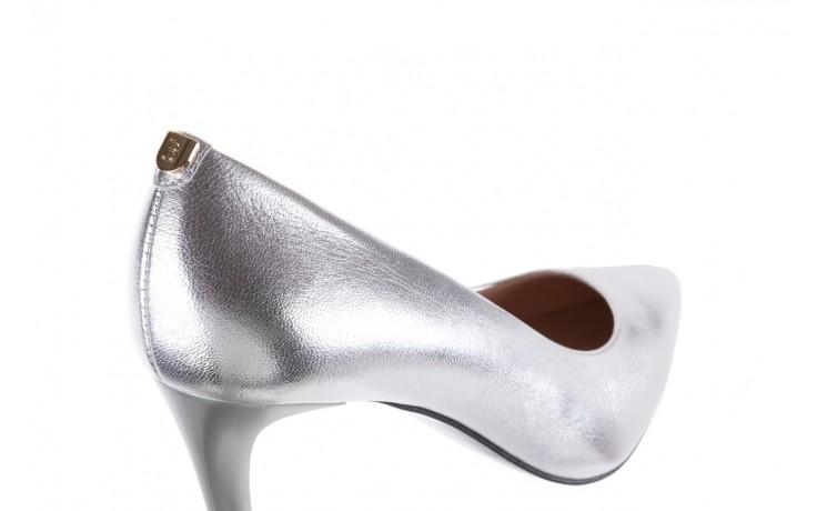 Czółenka bayla-056 1816-1103 srebrny 20, skóra naturalna  - szpilki - buty damskie - kobieta 6