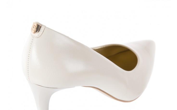 Czółenka bayla-056 1816-779 cream, biały, skóra naturalna  - 10% - halloween do -30% 5