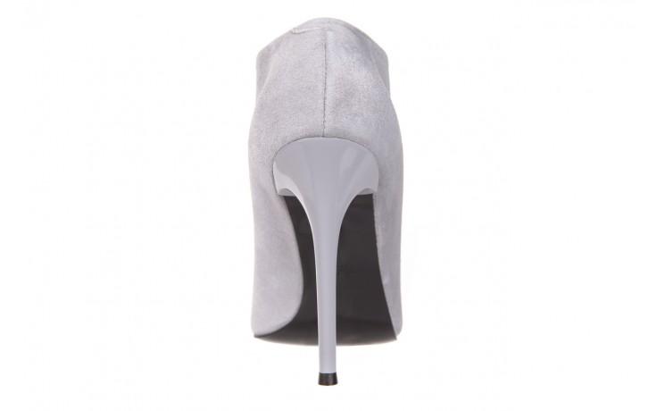 Botki bayla-056 2074-678 szary, skóra naturalna  - na szpilce - botki - buty damskie - kobieta 5