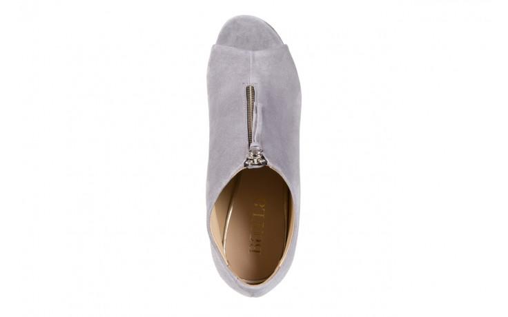 Botki bayla-056 2074-678 szary, skóra naturalna  - na szpilce - botki - buty damskie - kobieta 4
