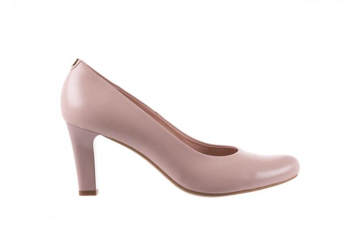 Czółenka bayla-056 5051-1104 róż lico 19, skóra naturalna - skórzane - szpilki - buty damskie - kobieta