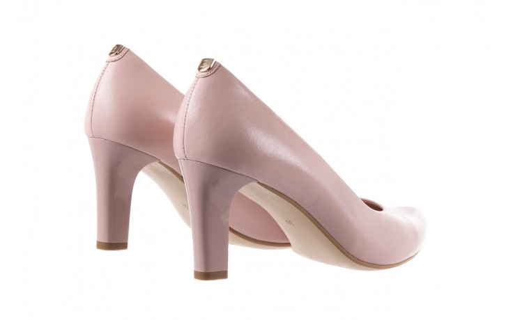 Czółenka bayla-056 5051-1104 róż lico 19, skóra naturalna - skórzane - szpilki - buty damskie - kobieta 4