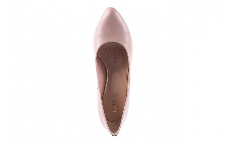 Czółenka bayla-056 5051-1104 róż lico 19, skóra naturalna - skórzane - szpilki - buty damskie - kobieta 5