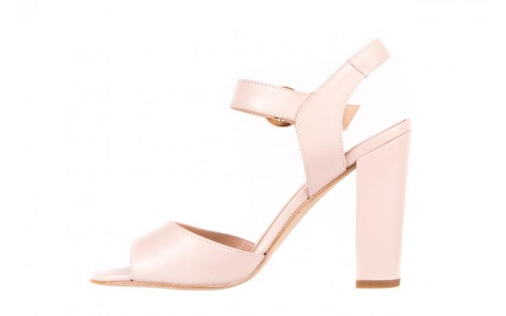 Sandały bayla-056 8023-203 beżowe sandały 19 - na obcasie - sandały - buty damskie - kobieta 2