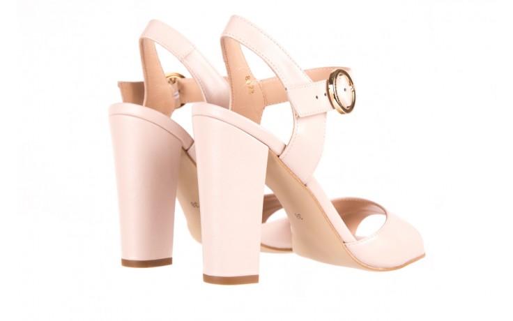 Sandały bayla-056 8023-203 beżowe sandały 19 - na obcasie - sandały - buty damskie - kobieta 3