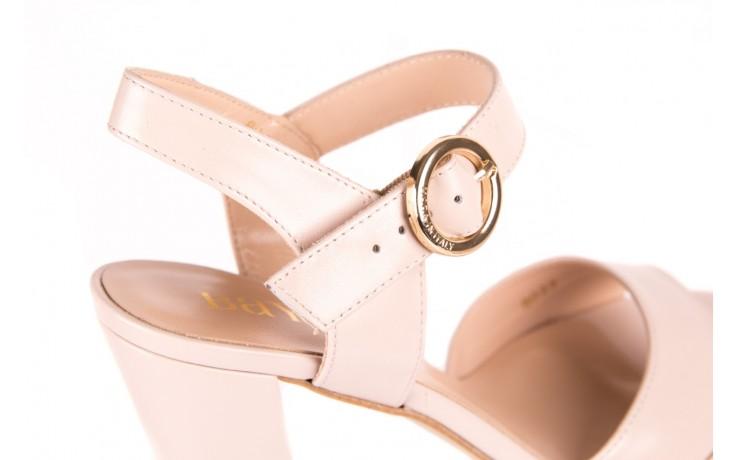 Sandały bayla-056 8023-203 beżowe sandały 19 - skórzane - sandały - buty damskie - kobieta 5