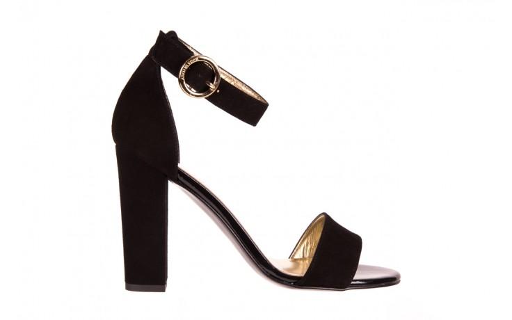 Sandały bayla-056 8024-21 czarne sandały, skóra naturalna  - bayla - nasze marki
