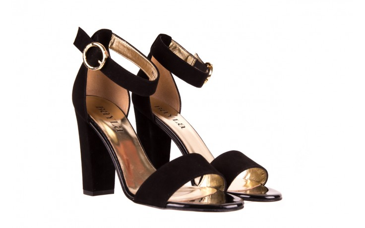 Sandały bayla-056 8024-21 czarne sandały, skóra naturalna  - bayla - nasze marki 1