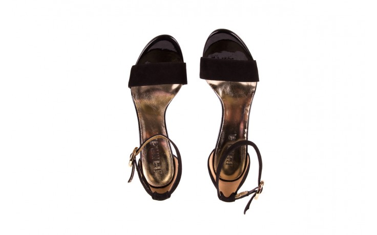 Sandały bayla-056 8024-21 czarne sandały, skóra naturalna  - bayla - nasze marki 4