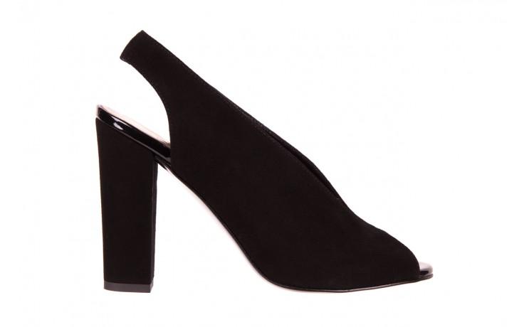 Sandały bayla-056 8043-21 czarne sandały, skóra naturalna  - bayla - nasze marki