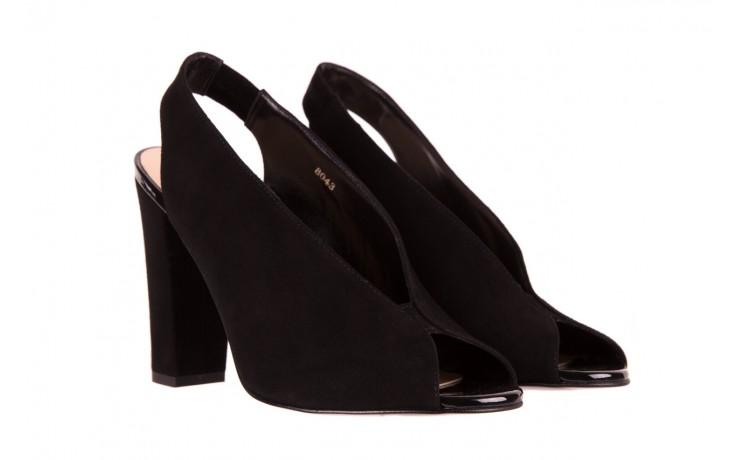 Sandały bayla-056 8043-21 czarne sandały, skóra naturalna  - bayla - nasze marki 1