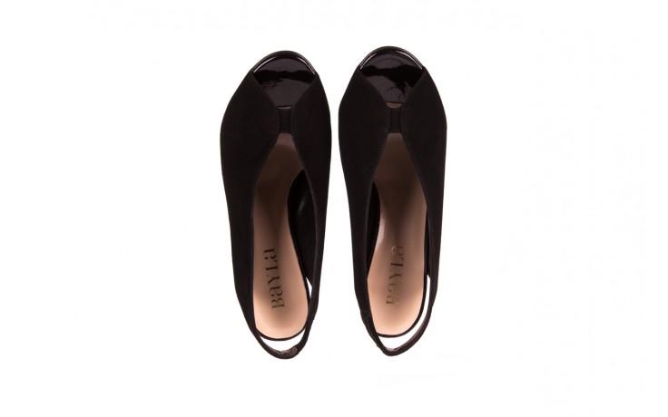 Sandały bayla-056 8043-21 czarne sandały, skóra naturalna  - bayla - nasze marki 4