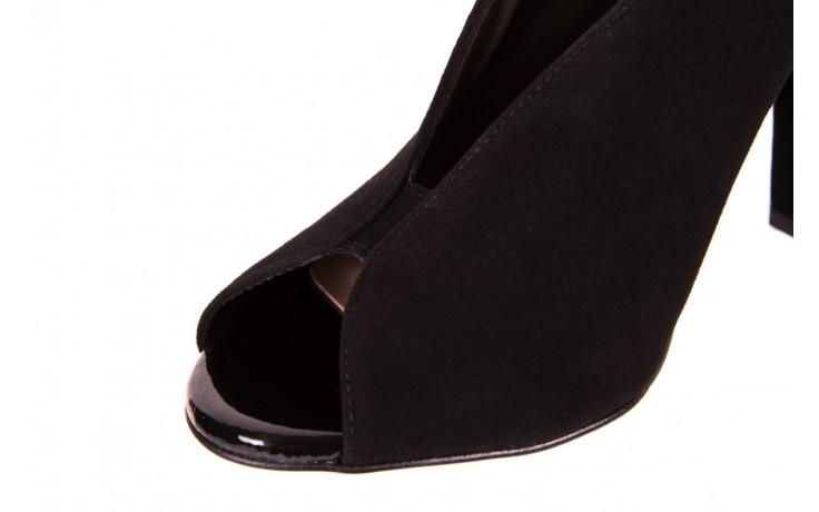 Sandały bayla-056 8043-21 czarne sandały, skóra naturalna  - bayla - nasze marki 5