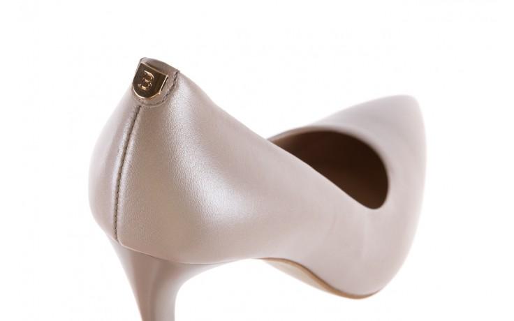 Czółenka bayla-056 9035-1422 szampańskie perłowe czółenka, skóra naturalna  - kolekcja ślubna - trendy - kobieta 5