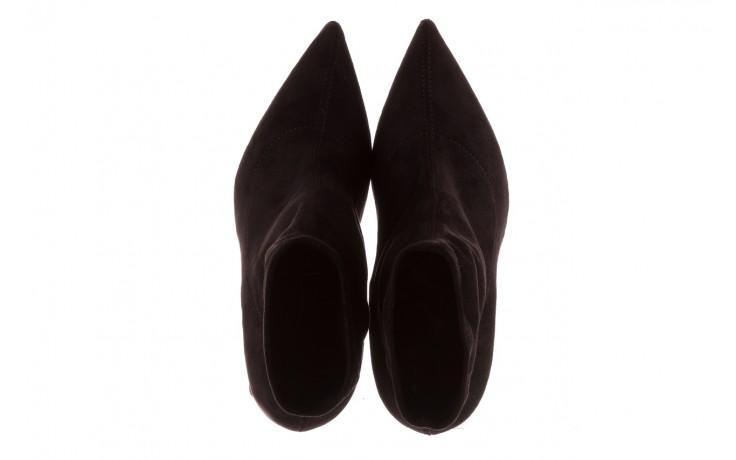 Botki bayla-056 9046-730 czarne botki, materiał - bayla - nasze marki 4