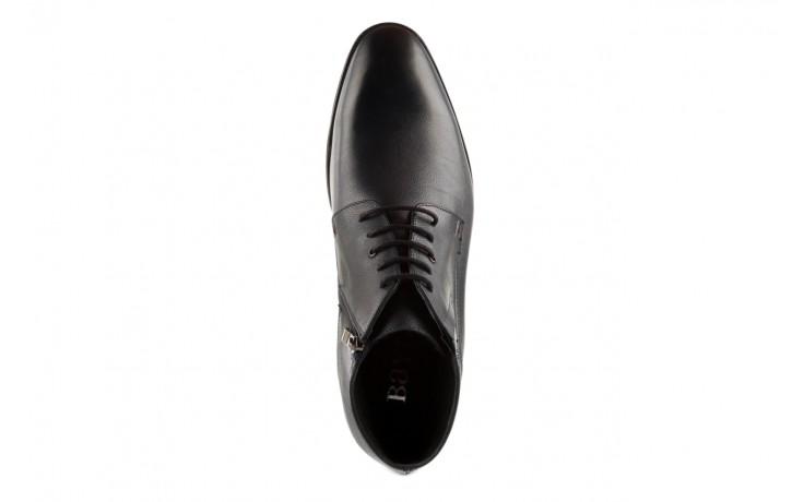 Trzewiki bayla-057 3197 granat, skóra naturalna - wizytowe - trzewiki - buty męskie - mężczyzna 4