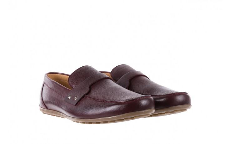 Mokasyny bayla-057 3505 chianti, bordo, skóra naturalna  - mokasyny i espadryle - buty męskie - mężczyzna 1