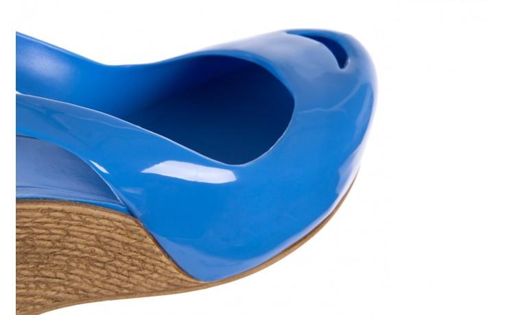 Sandały bayla-064 coco light blue, niebieski, guma 5