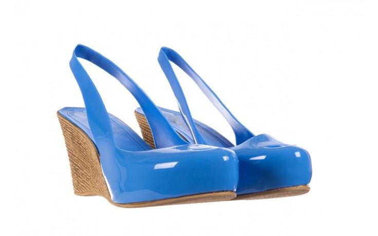 Sandały bayla-064 coco light blue, niebieski, guma 1