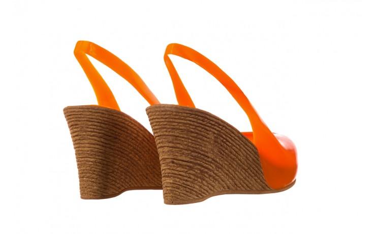 Sandały bayla-064 coco orange fluo, pomarańczowy, guma - bayla - nasze marki 3