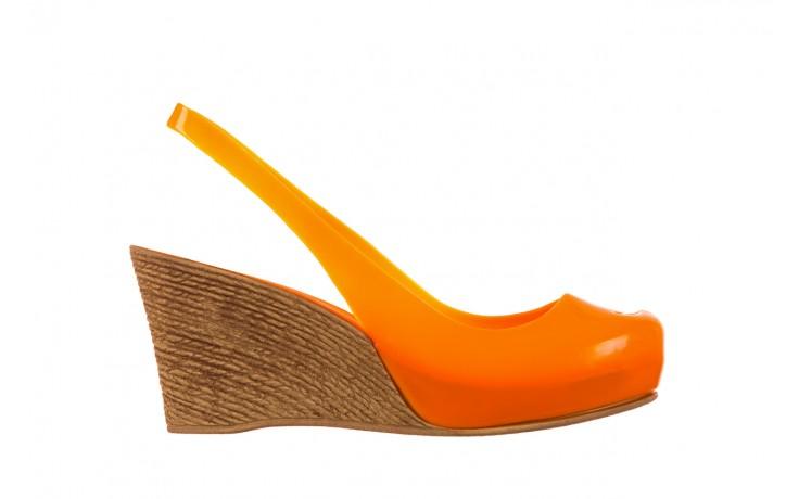 Sandały bayla-064 coco orange fluo, pomarańczowy, guma - bayla - nasze marki