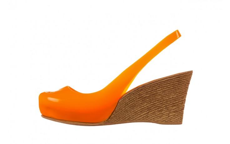 Sandały bayla-064 coco orange fluo, pomarańczowy, guma - bayla - nasze marki 2
