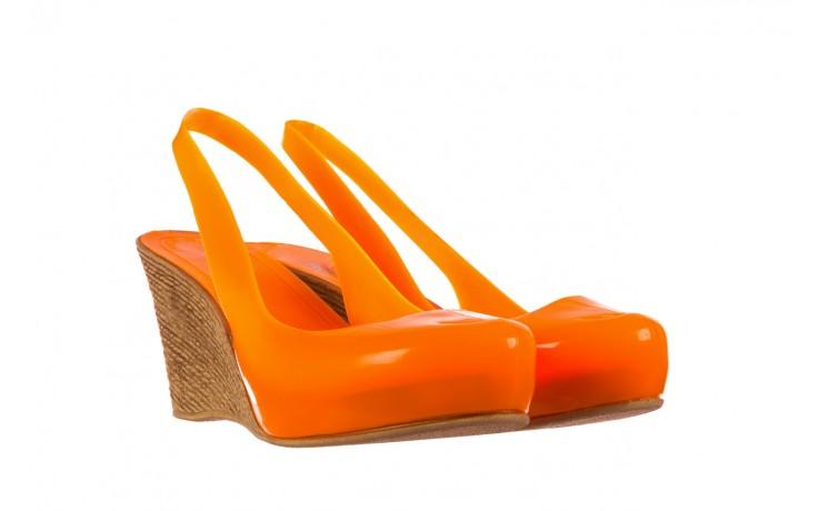 Sandały bayla-064 coco orange fluo, pomarańczowy, guma - bayla - nasze marki 1
