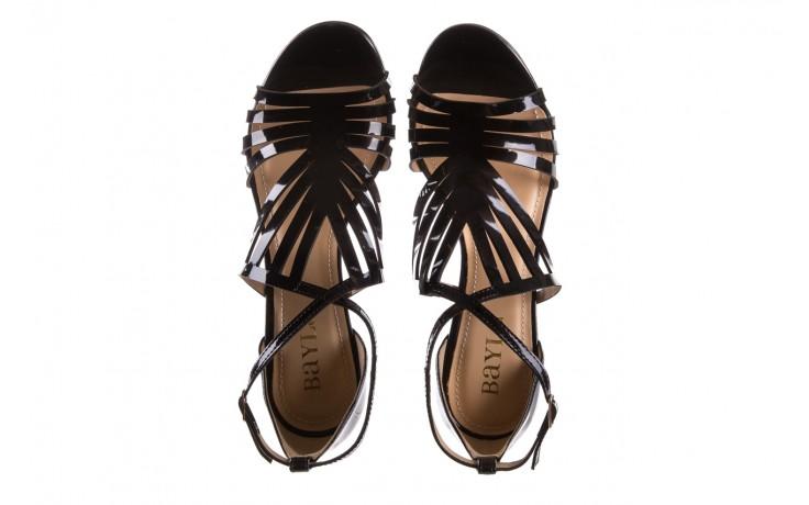 Sandały bayla-065 1388115 col preto, czarny, skóra ekologiczna lakierowana  - bayla - nasze marki 5