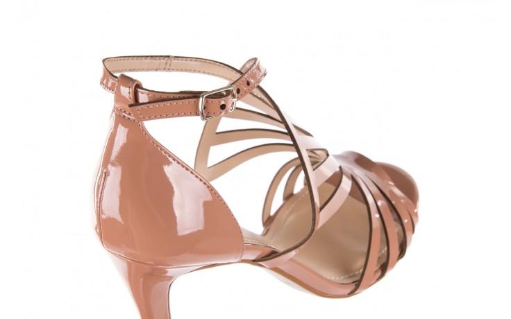Sandały bayla-065 1388115 col rosa, róż, skóra ekologiczna lakierowana  - sandały - letnie hity cenowe 6