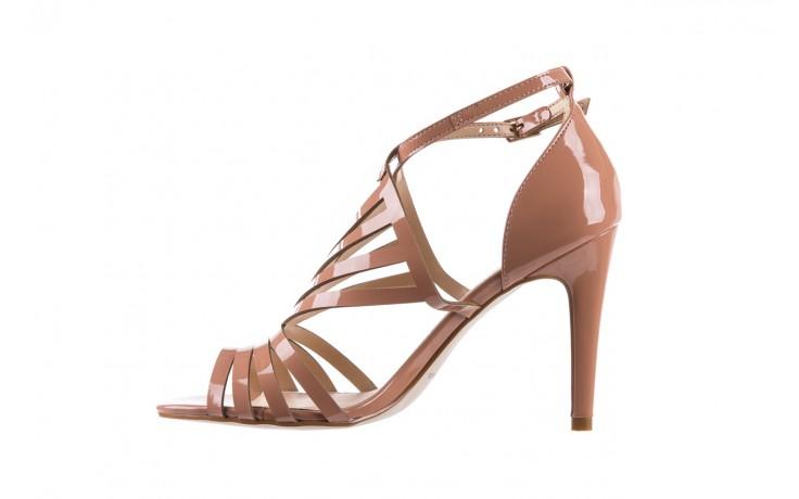 Sandały bayla-065 1388115 col rosa, róż, skóra ekologiczna lakierowana  - sandały - letnie hity cenowe 3