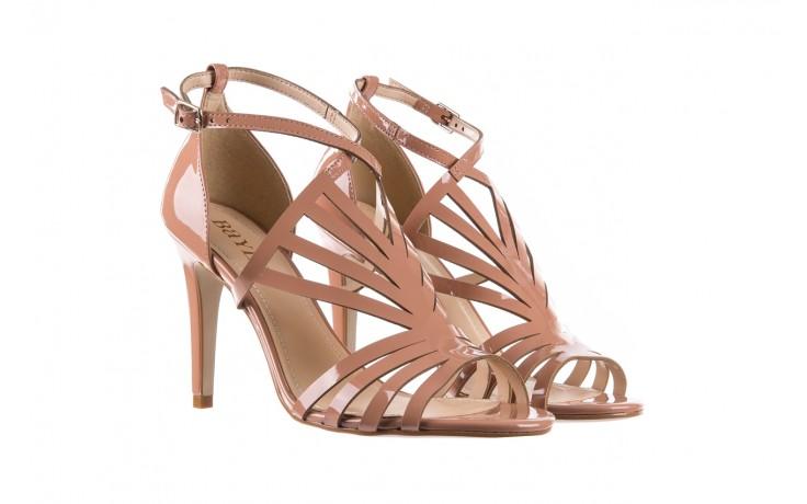 Sandały bayla-065 1388115 col rosa, róż, skóra ekologiczna lakierowana  - sandały - letnie hity cenowe 1
