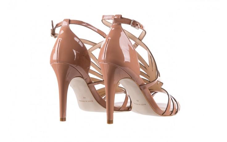 Sandały bayla-065 1388115 col rosa, róż, skóra ekologiczna lakierowana  - sandały - letnie hity cenowe 4