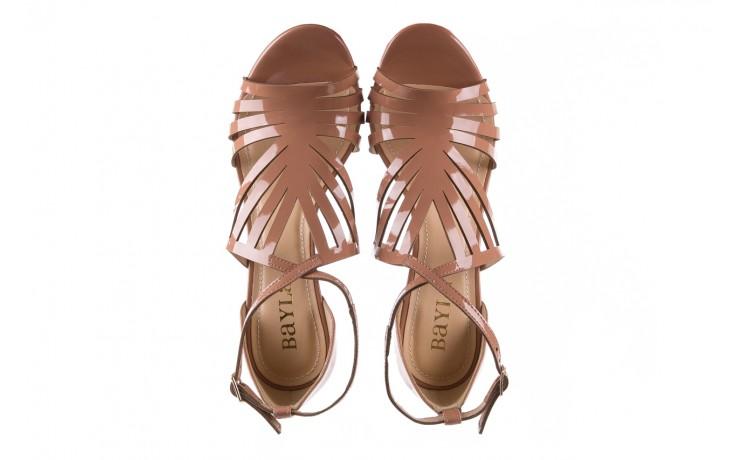 Sandały bayla-065 1388115 col rosa, róż, skóra ekologiczna lakierowana  - sandały - letnie hity cenowe 5