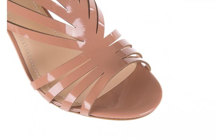 Sandały bayla-065 1388115 col rosa, róż, skóra ekologiczna lakierowana  - sandały - letnie hity cenowe 7