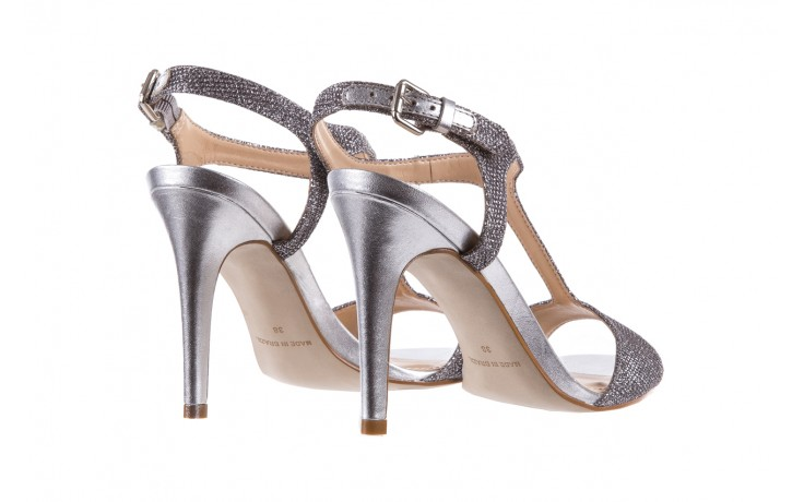 Sandały bayla-065 1388176 col prata, srebrny, skóra ekologiczna  - bayla - nasze marki 4