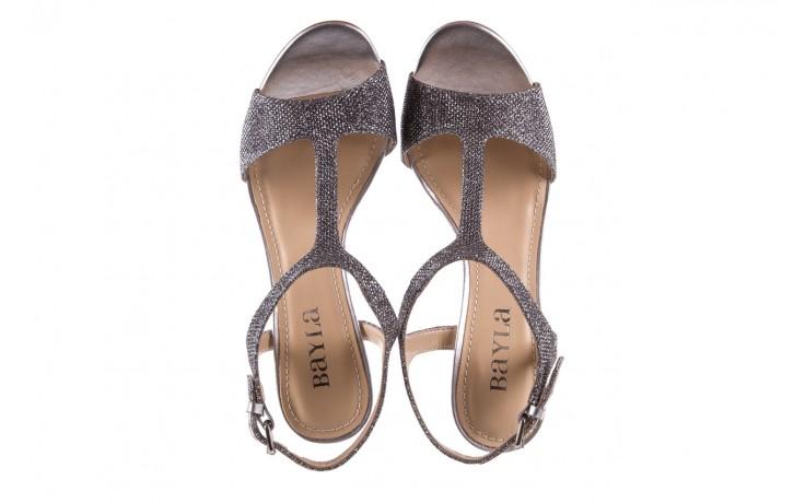 Sandały bayla-065 1388176 col prata, srebrny, skóra ekologiczna  - bayla - nasze marki 5