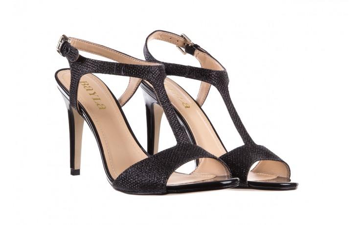 Sandały bayla-065 1388176 col preto, czarny, skóra ekologiczna - peep toe - szpilki - buty damskie - kobieta 1