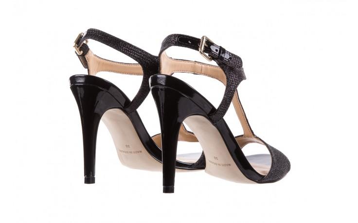 Sandały bayla-065 1388176 col preto, czarny, skóra ekologiczna - peep toe - szpilki - buty damskie - kobieta 4