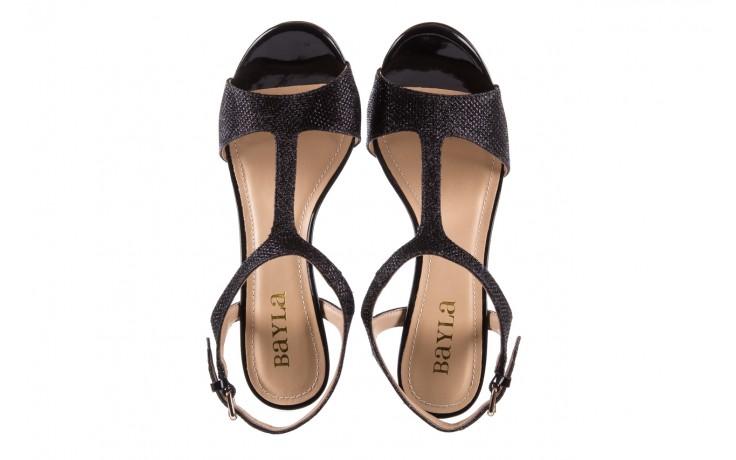 Sandały bayla-065 1388176 col preto, czarny, skóra ekologiczna - peep toe - szpilki - buty damskie - kobieta 5