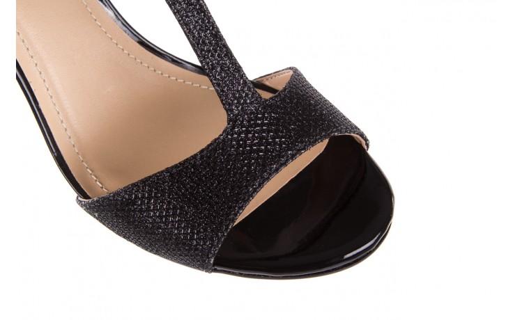 Sandały bayla-065 1388176 col preto, czarny, skóra ekologiczna - peep toe - szpilki - buty damskie - kobieta 7