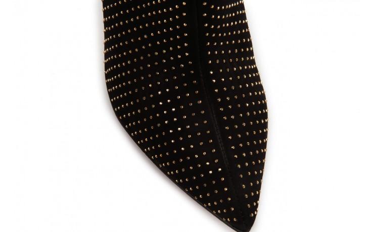 Botki bayla-067 118707 nobuck black, czarny, skóra naturalna - bayla - nasze marki 5