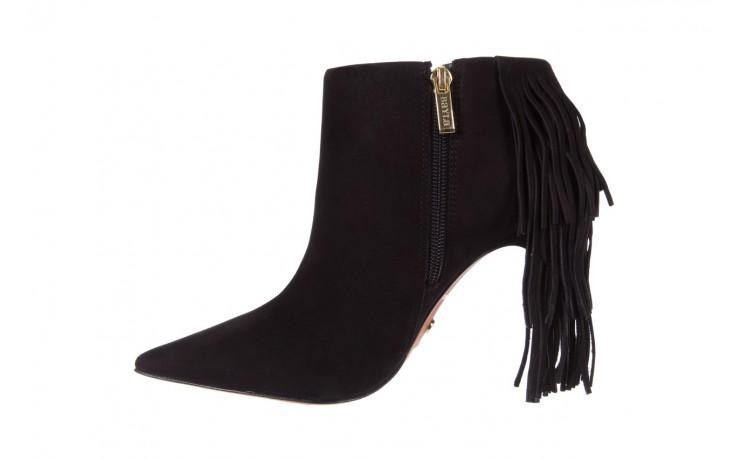 Botki bayla-067 130329 nobuck black, czarny, skóra naturalna  - na szpilce - botki - buty damskie - kobieta 2