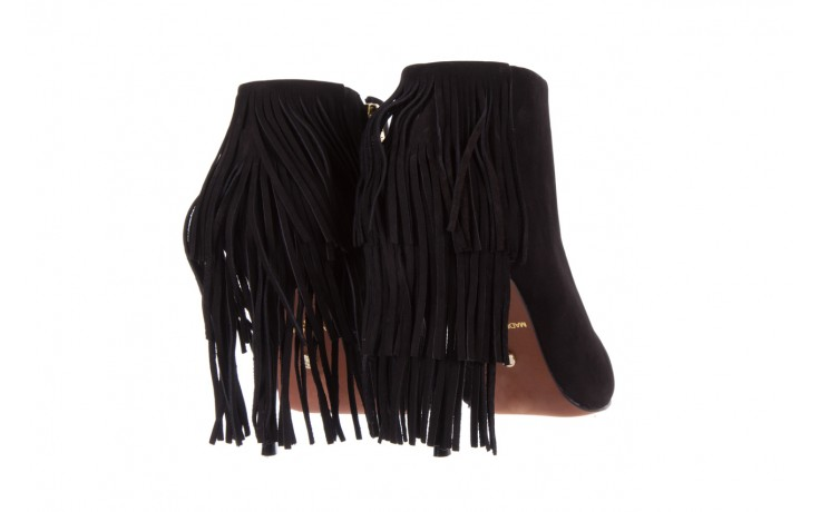 Botki bayla-067 130329 nobuck black, czarny, skóra naturalna  - na szpilce - botki - buty damskie - kobieta 3
