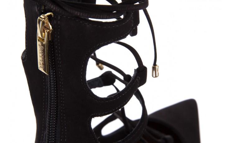 Czółenka bayla-067 130336 nobuck black, skóra naturalna  - bayla - nasze marki 5