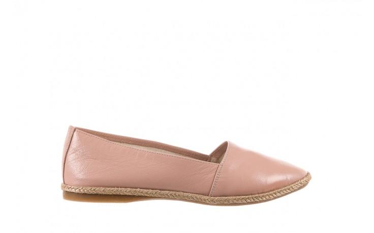 Mokasyny bayla-076 1566 różowy 18, skóra naturalna  - mokasyny i lordsy - półbuty - buty damskie - kobieta